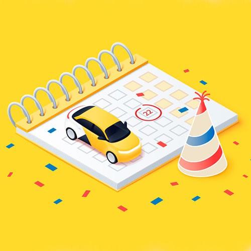 Поздравляем с Днём таксиста!