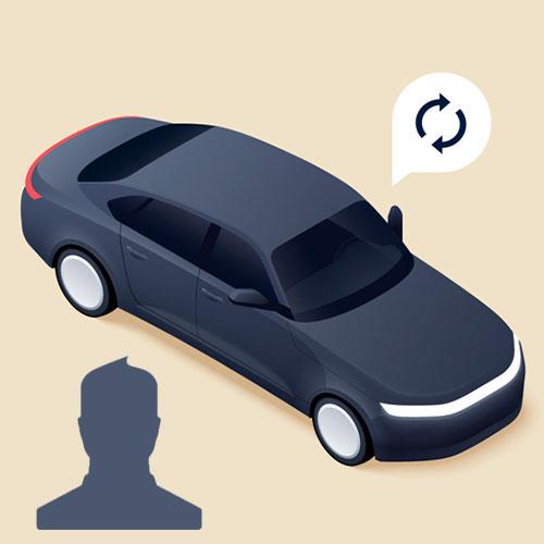 Фото водителя в премиальном тарифе Яндекс.Такси