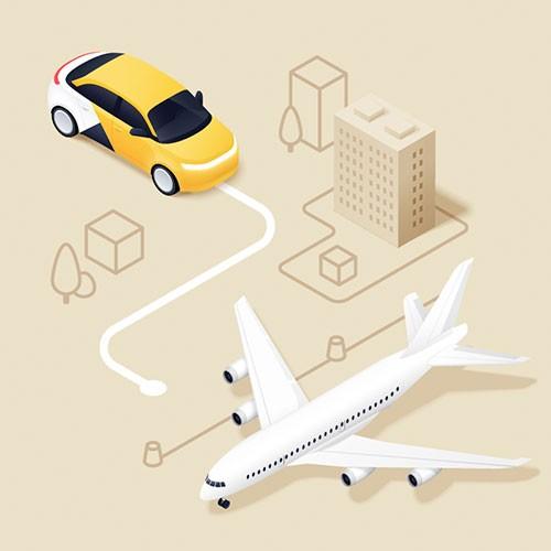 Выполнение безналичных заказов с первой линии аэропорта Шереметьево